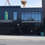 impressive exterior of Rushgroves marketing suite
