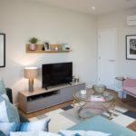 show apartment in marketing suite
