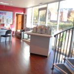 ground floor sales area of marketing suite