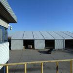 Temporary warehouse for DSV