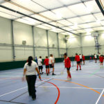 Temporary Sports Hall Badminton