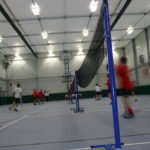 Temporary Sports Hall 35 m long