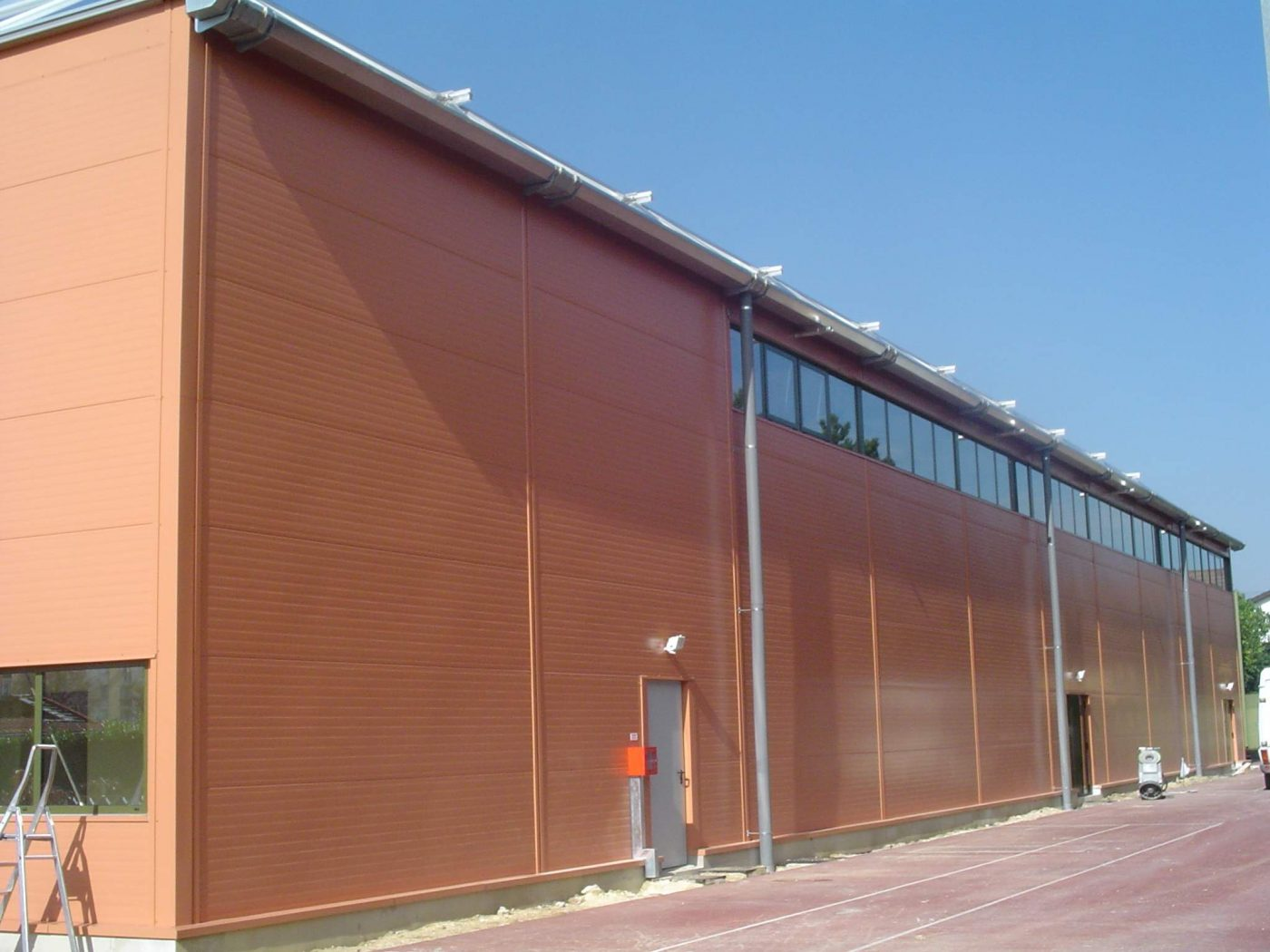 Temporary Sports Hall