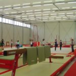 Temporary Sports Hall Interior
