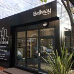 Marketing Suite for Bellway Dockside Exterior