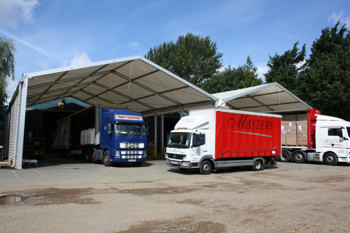 loading canopy for masters logistical