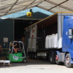 Loading Canopy at Masters Logistical, Ely