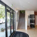 Edgware Green Marketing Suite Entrance