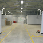 Temporary Warehouse Interior