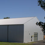 Temporary Warehouse, Panel Roof