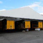 Temporary Loading Canopy fro Potter Logistics
