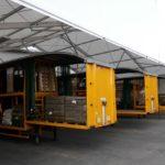 Loading Canopy 6m high